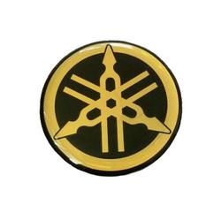 Yamaha embleem Goud