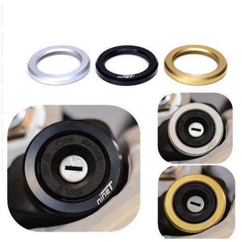 BMW R NineT Lock Ring zwart