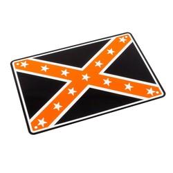 Rebel Flag 29 x 20CM Plaque en étain