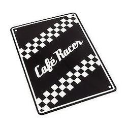 Cafe Racer 29 x 20CM Plaque en étain