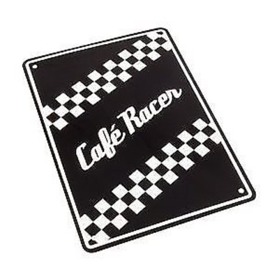 Cafe Racer 29 x 20CM Reclame bord