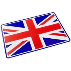 Union Jack 29 x 20CM Plaque en étain