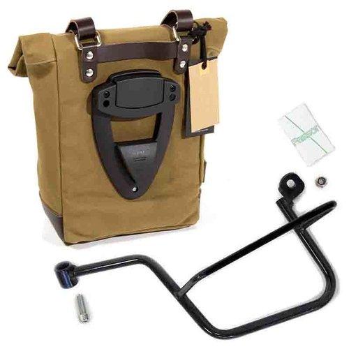 UNIT Garage Linker Canvas bagage tas en bevesteging beugel Moto Guzzi V7