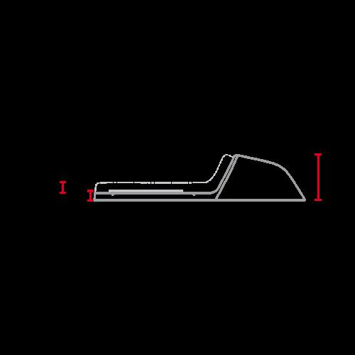 C.Racer Aangepast zitje