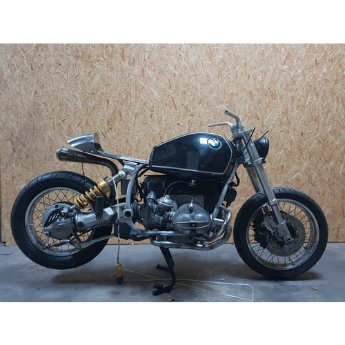 MAD Exhaust BMW R80 R100 R75 2 in 1 uitlaat