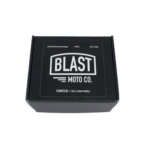 Blast Moto UITVERKOOP ! 130CCA Lithium Accu