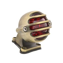 Lecter Tail Light + Fender Mount Kit - Brass
