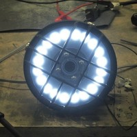 How To Make a LED Headlight for your Cafe Racer