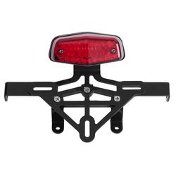 Feu arrière avec support de plaque et kit pour faisceau électrique