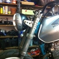 How To Make an Old-school Cafe Racer Headlight