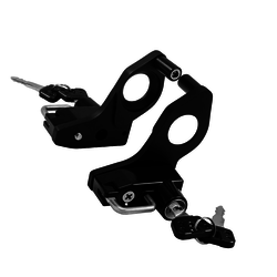 Zijkant Shockmount helm-lock-sets