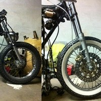 How To Make White Wall Tyres (Cafe Racers)