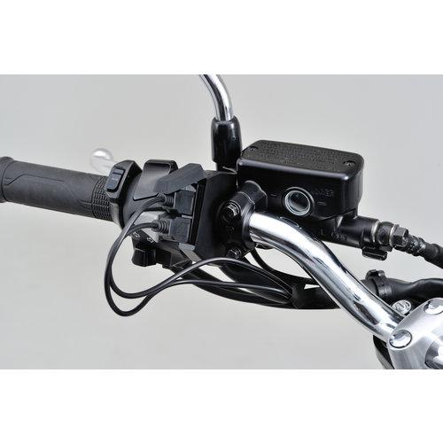 Daytona slim-mount USB power supply