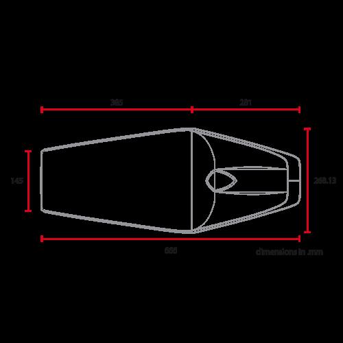 C.Racer Late Classic Seat Diamond Brown