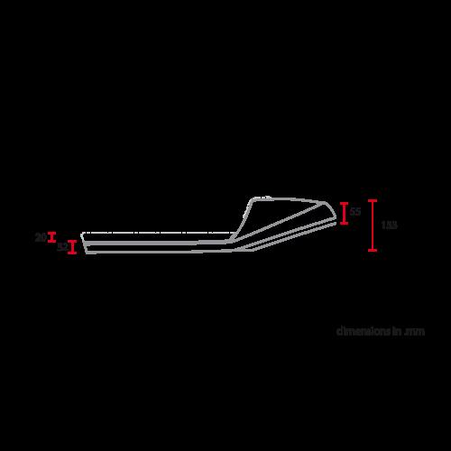 C.Racer Late Classic Sitz Diamant Braun