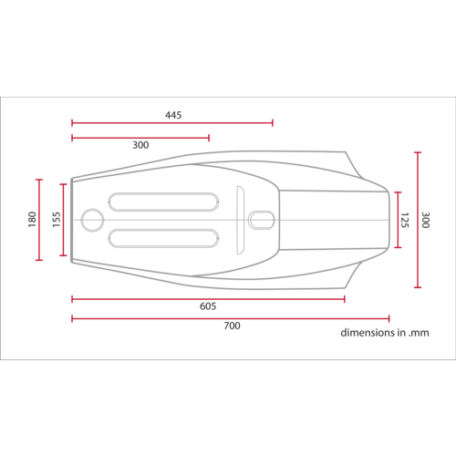 C.Racer Flat Tracker Seat Black Tuck 'n Roll