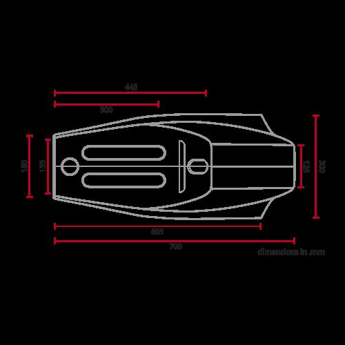 C.Racer Flat Tracker Sitz Black Tuck 'n Roll