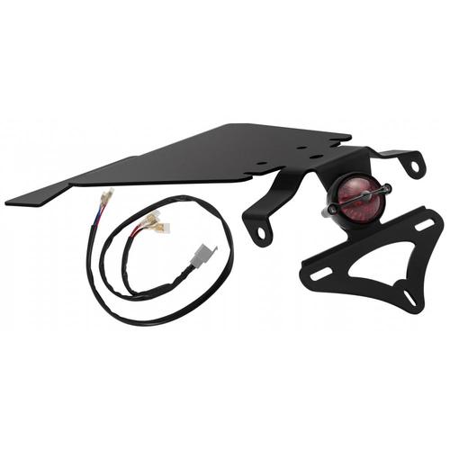 Motone Bel Air Tail Light in Black - Tail Tidy - Loom - Kit