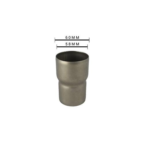 Adapter / verloopstuk Uitlaat 58MM - 51MM