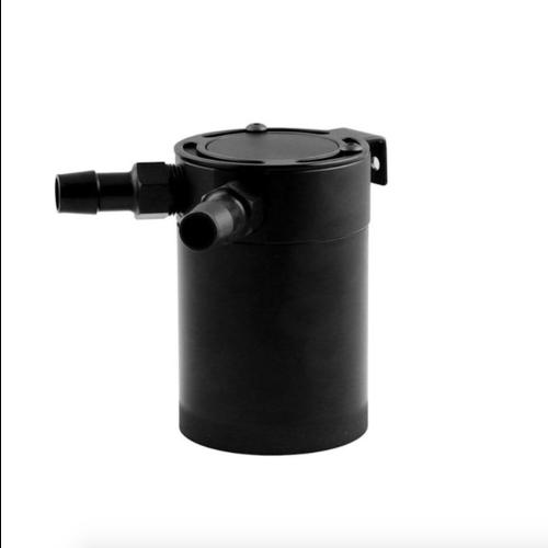 2-poorts aluminium Oil Catch Tank