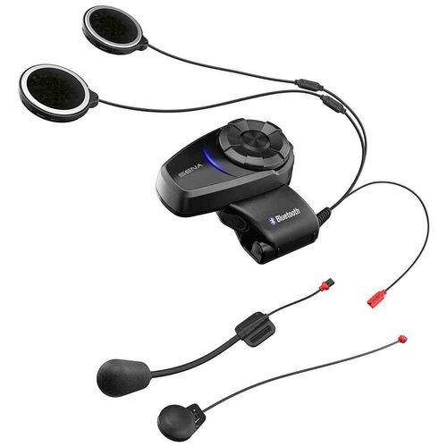 Sena 10S Bluetooth® Communicatie systeem dual-pack zwart