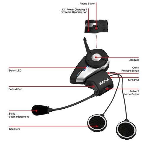 Sena 20S Bluetooth® Communicatie systeem
