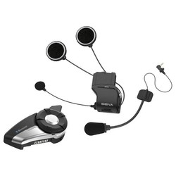 20S EVO Bluetooth® Motorrad Bluetooth Kommunikationssystem Schwarz/Silber