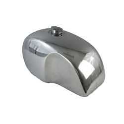 Moto Guzzi Custom Aluminium Kraftstofftank