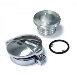 Monza Adapter + Cap for New Triumph Bonneville, Thruxton and Scrambler Models