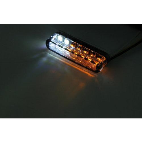 Shin Yo Clignotant à LED fumé Shorty avec feu de position (paire)