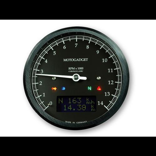 Motogadget Chronoclassic Tacho Black 14.000 RPM - black
