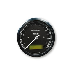 Chronoclassic Tacho Black 14.000 RPM - black