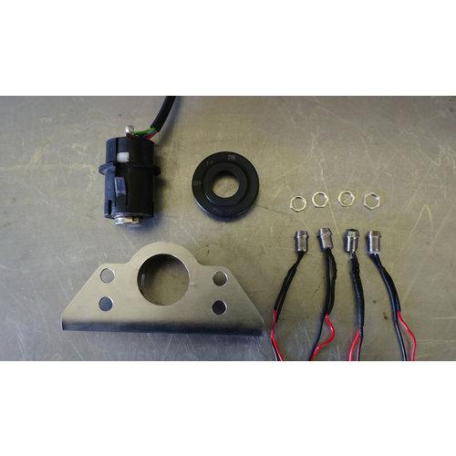 RMR Ignition lock bracket plus indicator lights BMW K100 K75