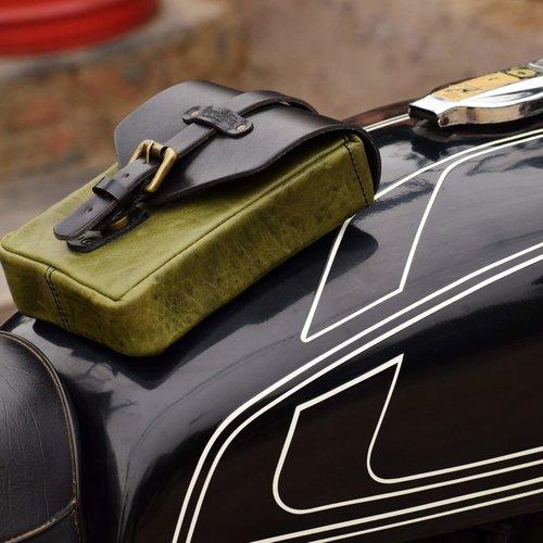 Trip Machine Tank Bag Green Black
