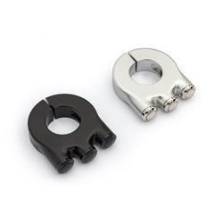 Interrupteur premium à 3 boutons en aluminium