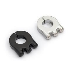 Premium 3-knops schakelaar aluminium