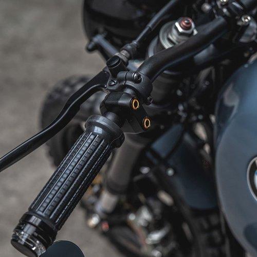 Rebelmoto REBEL SWITCH 2 button LED – polished 22 mm