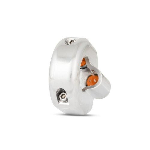 Rebelmoto REBEL SWITCH 3 button LED – polished 22 mm