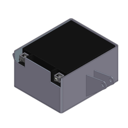 Honda CX500 Battery Box Steel Type 1