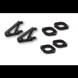 CNC Alu headlamp bracket set XS