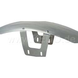 SR400/500 Aluminium voorspatbord tracker stijl