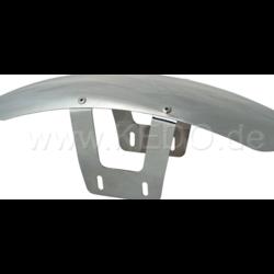 SR400/500 Aluminum front fender tracker style