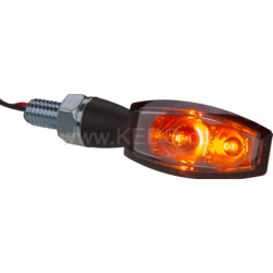 "Wrenchmonkees ""Monkeebeast"" LED-indicator 'Blaze', zwart metalen behuizing"