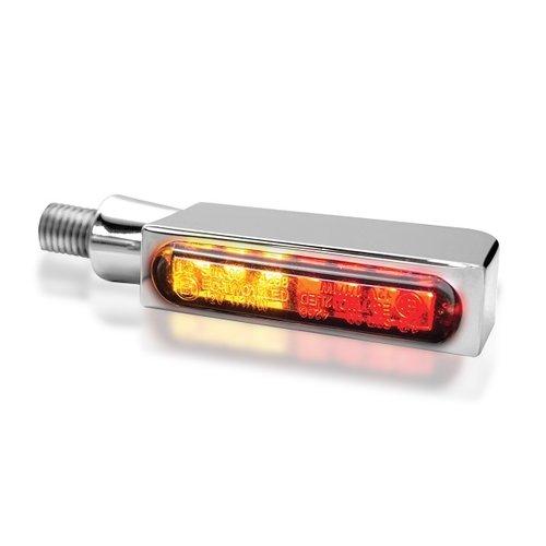 HeinzBikes Clignotant à LED 3-en-1 série BLOKK-Line