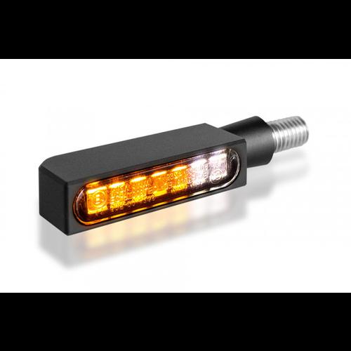 HeinzBikes Clignotant et feu de position à LED série BLOKK-Line
