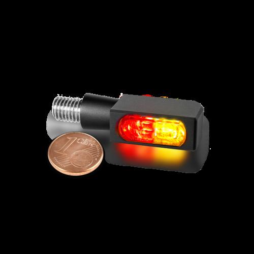 HeinzBikes Clignotant MICRO SMD 3-en-1 série BLOKK-Line
