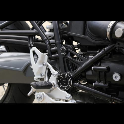 Highsider Capuchon de cadre CNC pour BMW R NineT, set A