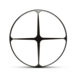 "Cross Design Grid 7"""