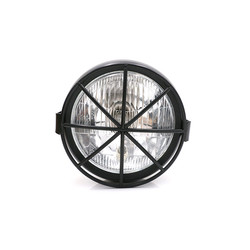 "6.3"" Headlight Black - Metal Type 14"
