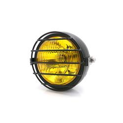 "6.3"" Headlight Yellow / Black - Metal Type 15"